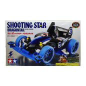 TAMIYA Mini 4WD Dash 3 Shooting Star Dragon Tail -White (Super I Chassis)