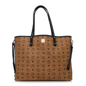 MCM Large Project Visetos Reversible Shopper - Cognac  [MWP6AVI28CO001]