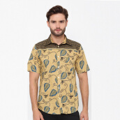 A&D Mens batik Casual Ms 899 - Brown