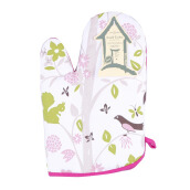 ARNOLD CARDEN Oven Mitts Bird Tree Right Side - Pink 17x25cm