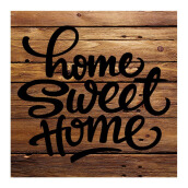 NAIL YOUR ART Home Sweet Home Wall Clock/30x30Cm