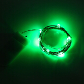 1M 10 LEDs Mini String Light CR2032 Battery Powered Waterproof Lamp