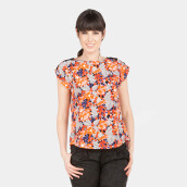 Blanik Eve Tops 85278 - Print Orange [One Size]