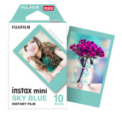 FUJIFILM Instax Paper Sky Blue Single Pack