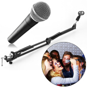 [Kingstore]Mic Microphone Suspension Boom Scissor Arm Stand Holder for Studio Broadcast