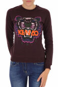 Kenzo Women's Prune Tiger Head Paris Sweatshirt