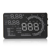 Excelvan HUD Projector Head-Up Display Speeding Speedometers Black