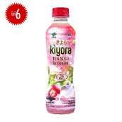 KIYORA Strawberry Milk Tea 300ml x 6pcs