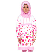 4 YOU Sweet Flower Moslem Long Dress