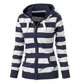 BESSKY Women Ladies Zipper Tops Hoodie Hooded Coat Jacket Casual Slim Jumper_