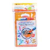 ABCD Waterdoodle Book Numbers WDB007