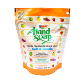 YURI Hand Soap Pouch Orange 375ml