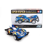 TAMIYA Mini 4WD Spin Viper Black Special Waigo Hobby Limited - Blue Special (VS Chassis)
