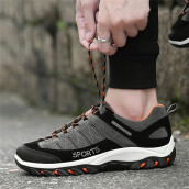 BESSKY Men Outdoor Sneakers Sports Hiking Casual Waterproof Anti-Skidding Shoes _