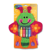STEPHEN JOSEPH Bath Mitts with Crayons Butterfly SJ1038-25A