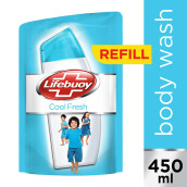 LIFEBUOY Body Wash Cool Fresh Refill 450ml