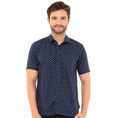 SALT N PEPPER Mens Short Sleeve SNP 162 - Navy