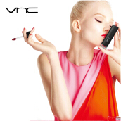 VNC Long-Lasting Liquid Lipstick Rouge A Levers-Barbie red Chocolate Neon powder
