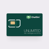 CHATSIM Unlimited Global Sim Card