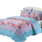 VINTAGE STORY Bedcover Shabby Floral Set 6 in 1 (SF06)