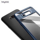 Keymao Full Protective Case TPU for Samsung Galaxy S8 Case-Blue