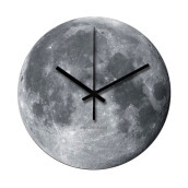 NAIL YOUR ART Moon Wall Clock/30x30Cm