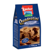 LOACKER Quadratini Chocolate 125gr
