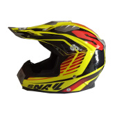 SNAIL Helmet Type 315- Yellow Red