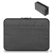 JDS S-10506 handbag(with one more battery bag) for laptop macbook ipad 11inch dark grey color
