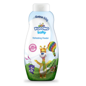 KODOMO Baby Powder Botol 200g - Blue