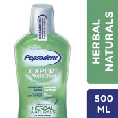 PEPSODENT Mouthwash Herbal Naturals 500ml