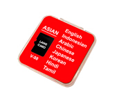 ALFALINK Language Learning Card LangCard V 98 ASIAN