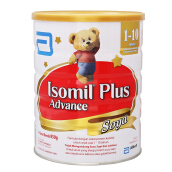 ISOMIL Plus Advance Susu Soya Tin - 850gr