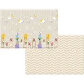 COBYHAUS PVC Playmat Yellow Bear Twinkle Little Star (235x140x1.6cm)