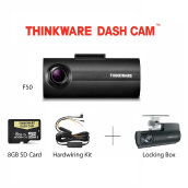 Thinkware Dash Cam F50 + Locking box