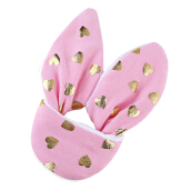 1pcWool Tooth Wing Ring for Babies Allover Heart Shape(Pink)