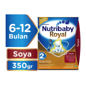 NUTRIBABY Royal 2 Susu Formula Soya Box - 350gr