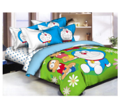 PANTONE Doraemon Garden Bed Cover Set King Fitted / 180x200cm