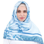 KAMILAA by ITANG YUNASZ Square Hijab - Mood in Blue