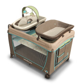 INGENUITY Washable Playard - Sahara Burst