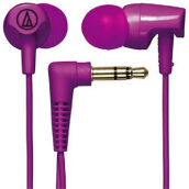 Audio Technica ATH-CLR100 Earphone Purple