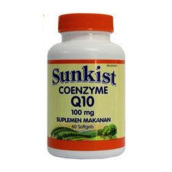 SUNKIST COQ10 100mg 60 Softgels