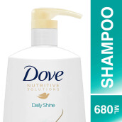 DOVE Shampoo Daily Shine 680ml