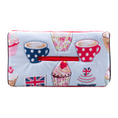 ARNOLD CARDEN Tissue Holder Cup Cake - Red