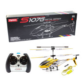 SYMA S107G 3.5CH Mini Helicopter - Yellow
