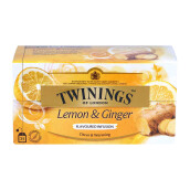 TWININGS Lemon & Ginger 25 x 1,5g