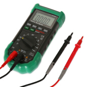 MASTECH MS8268 Digital Multimeter Sound Light Alarm Auto-range Resettable Fuse Capacitance Frequency Measurement