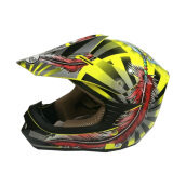 SNAIL Helmet Type 306 Feather(Child) - Yellow Black