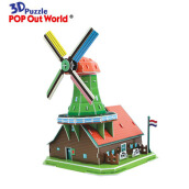 SCHOLAS Pop Out World - Windmills On The Roof SP14-0428
