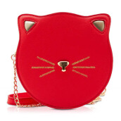 NEW COLLECTION Cat purse - Red